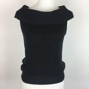 J. Crew | Vest Sweater Cowl Neck Size M Cotton NWT